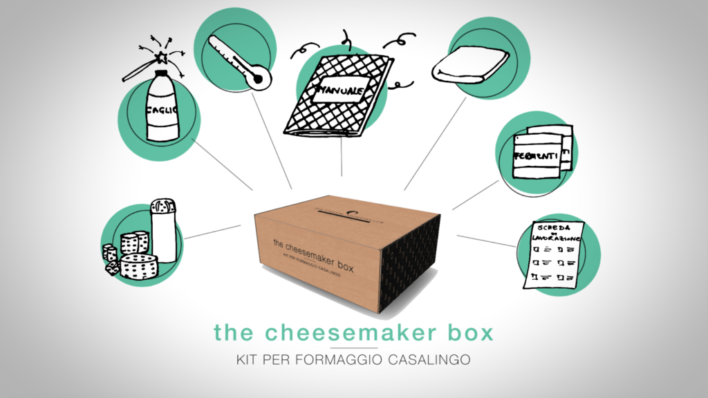 The Cheese Storyteller - the cheesemaker box grafica