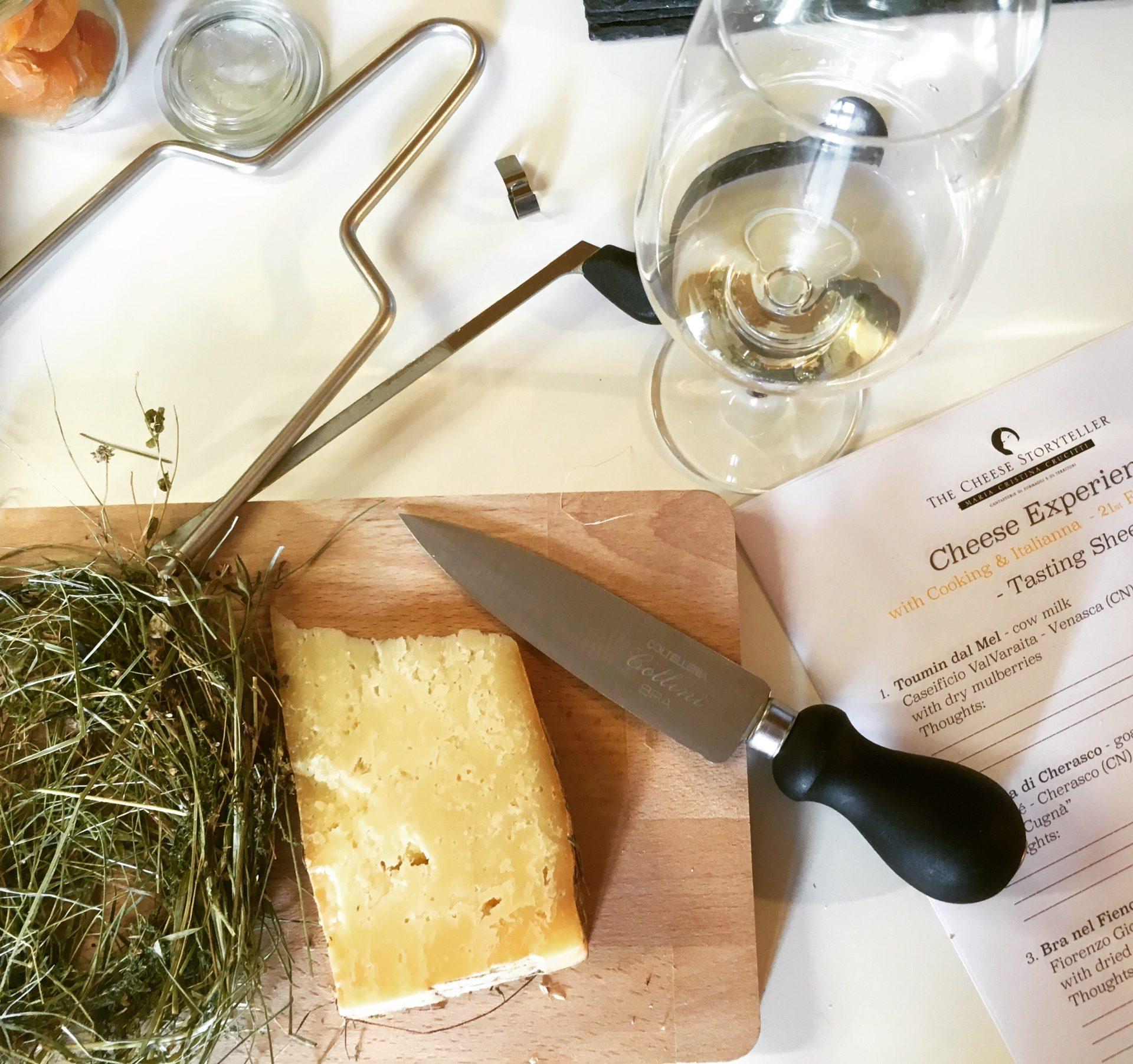 Cheese tour & tasting in Piemonte